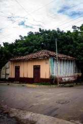 An old style house in Intipuca.